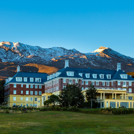 Chateau Tongariro Hotel, NZ