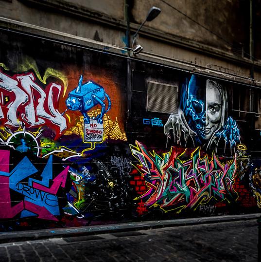 Hosier Lane, Melbourne VIC