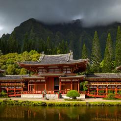 The Byodo-In Temple, O'ahu, Hawaii