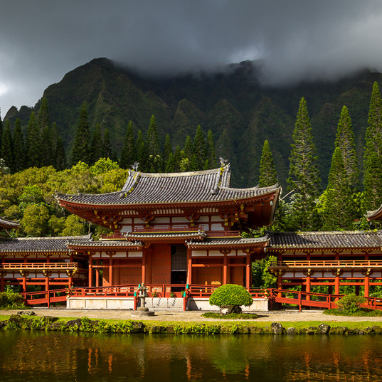 The Byodo-In Temple, O'ahu, Hawaii