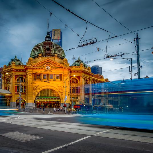 Flinders Street St, Melbourne VIC