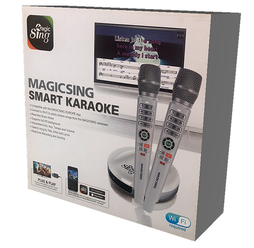 All-in-one karaoke system, 2 wireless HDMI MAGICSING