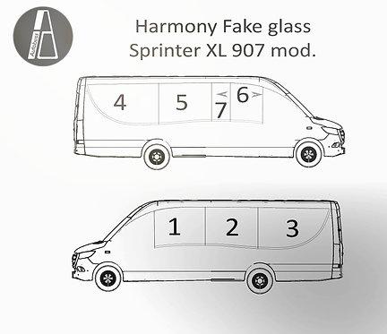 """Harmony """"fake"""" isolerglass til Sprinter XL 907"""