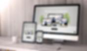 Bagrunnen Imac, Ipad, Iphone Doffen Webdesign