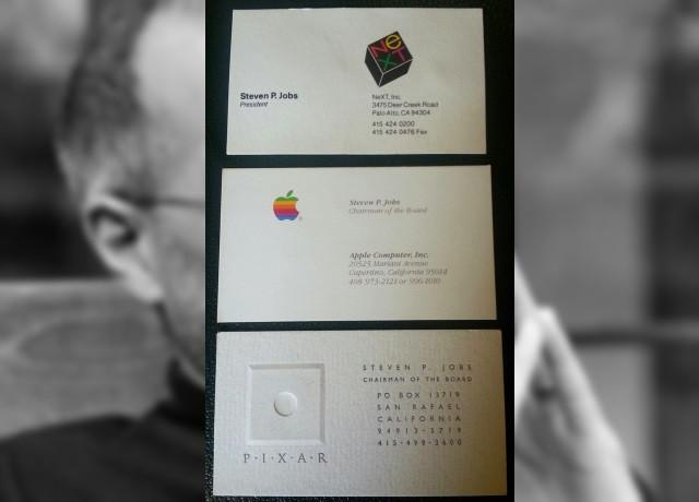 スティーブ・ジョブズの名刺の値段