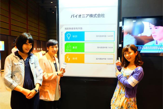 パイオニア株式会社~TOKYO IP COLLECTION 2015~