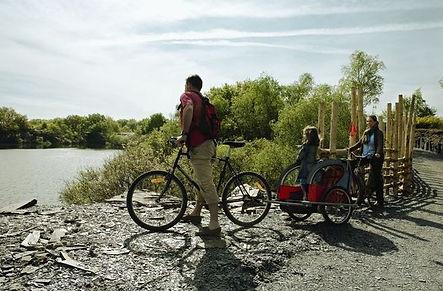 The Loire bike trails
