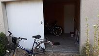 bike storage space loire valley gite chinon