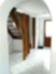 loire gite hallway