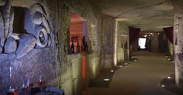 cave at panzoult interior view
