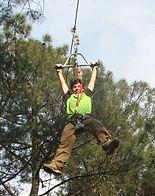 Tree adventure park Chinon