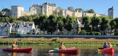 Canoeing in Chinon