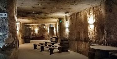 Interior Panzoult Cave