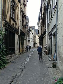 Medieval Chinon streetview