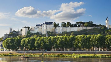 Chinon Chateau and River Vienne