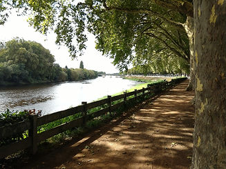 Banks of the River Vienne Chinon