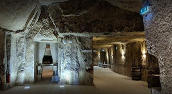Panzoult cave interior