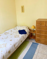chinon gite with swimming pool single bedroom