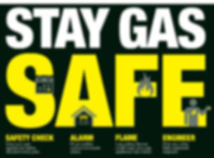 Gas safety poster