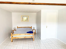 chinon gite loire valley main bedroom