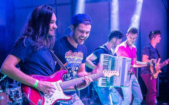 Com Charles e Ricardo - Florianópolis - 2017