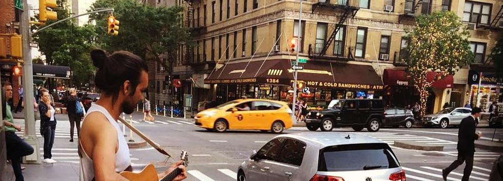 Busking New York