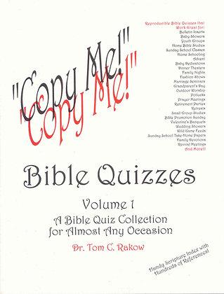 """""""Copy Me!"""" Bible Quizzes"""