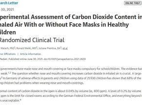 子供のマスク着用による健康被害が研究で再確認される