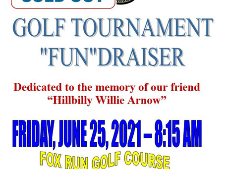 5/16/2021-Golf Tournament Sold Out!