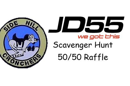 SHC-JD55 Charity Scavenger Hunt and/or 50/50 Entry