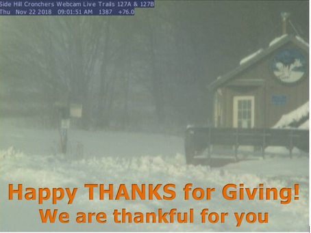 Happy THANKS for GIVING!