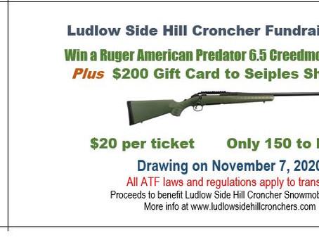 11/2/2020-Rifle Raffle Drawing on 11/7