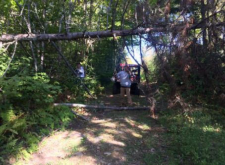 9/29/20- Trail Work Photos