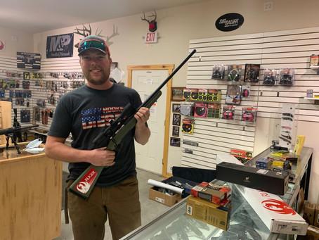 11/7/20- Gun Raffle Winner!