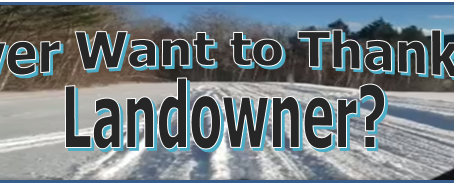 Ever Want to Thank A Landowner? Here's your chance!