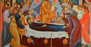 THE DORMITION [THE FALLING ASLEEP - THE ASSUMPTION] OF THEMOST-HOLY BIRTH-GIVER OF GOD (THEOTOKOS)