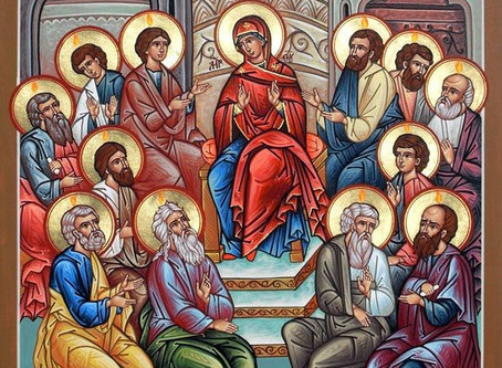 Pentecost—Trinity Sunday. Descent of the Holy Spirit on the Disciples