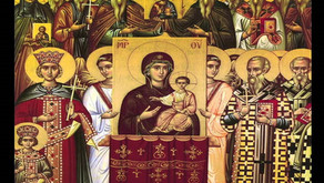 FIRST SUNDAY OF THE GREAT LENT – SUNDAY OF ORTHODOXY