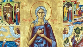Fifth Sunday of the Great Lent – Saint Mary of Egypt