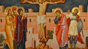 St. Tikhon on the Crucifixion
