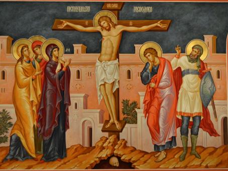 St. Tikhon on the Crucifixion