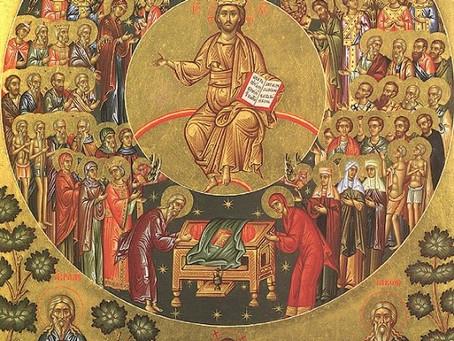 1ST SUNDAY AFETER PENTECOST –  SUNDAY OF ALL SAINTS