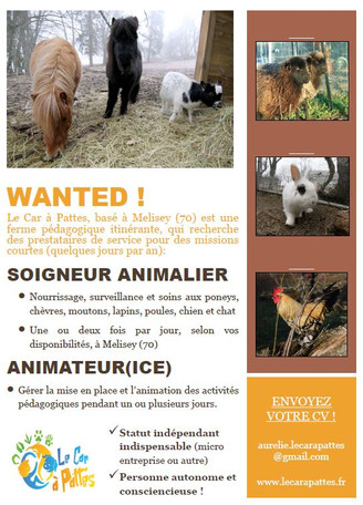 Wanted ! Collaborateurs :)