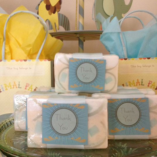 Organic Soap Favors