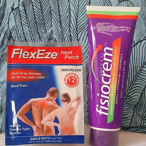 Fisiocrem + Bonus Heat Patch