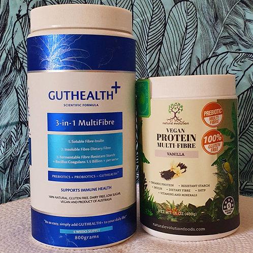 GutHealth Meets VeganVanilla