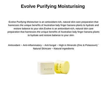 Evolve Purifying Moisturising.png