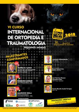 Vetoquinol participa do VI Curso Internacional de Ortopedia e Traumatologia de Pequenos Animais 2018
