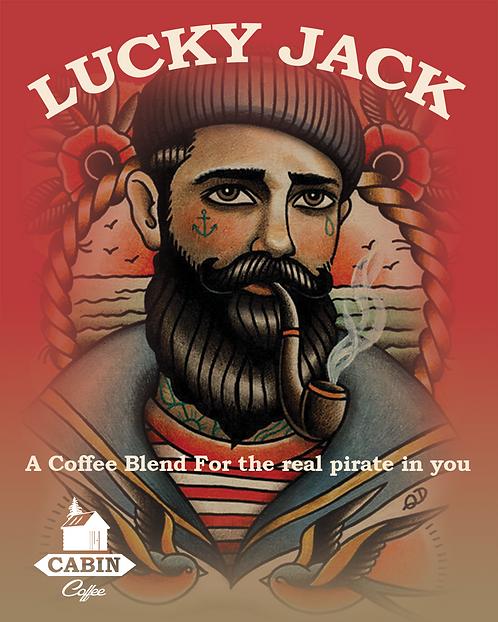 Lucky Jack Blend - 1kg - Medium Dark Roast