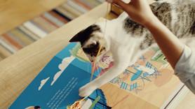 WHISKAS® lança o primeiro livro do mundo para ler com os gatos
